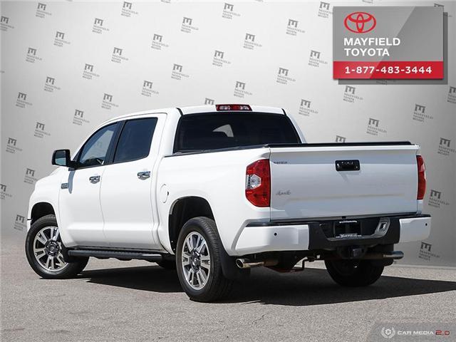 2018 Toyota Tundra Platinum 5.7L V8 (Stk: 1861086) in Edmonton - Image 4 of 20