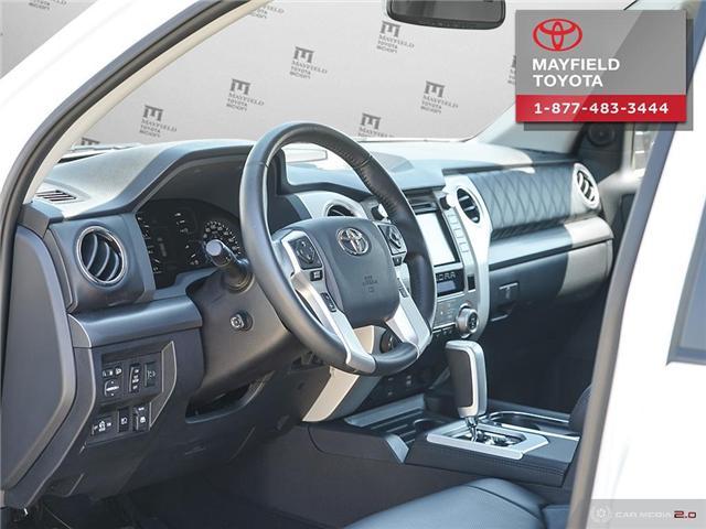 2018 Toyota Tundra Platinum 5.7L V8 (Stk: 1861086) in Edmonton - Image 12 of 20