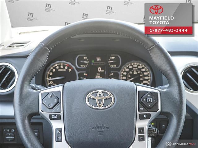 2018 Toyota Tundra Platinum 5.7L V8 (Stk: 1861086) in Edmonton - Image 13 of 20