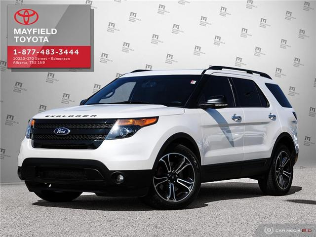 2013 Ford Explorer Sport (Stk: 194126) in Edmonton - Image 1 of 28