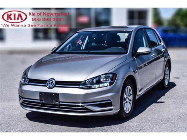 2018 Volkswagen Golf 1.8 TSI Comfortline (Stk: P0894) in Newmarket - Image 1 of 21