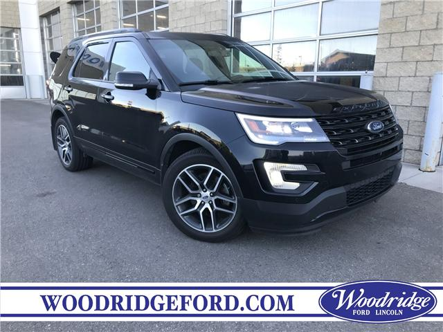 2017 Ford Explorer Sport (Stk: K-1418A) in Calgary - Image 1 of 23