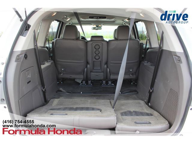 2016 Honda Odyssey Touring (Stk: B11227) in Scarborough - Image 26 of 32