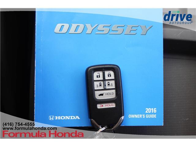 2016 Honda Odyssey Touring (Stk: B11227) in Scarborough - Image 32 of 32