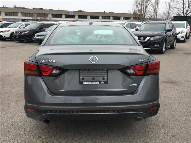 2019 Nissan Altima 2.5 SV (Stk: D305168A) in Scarborough - Image 4 of 11