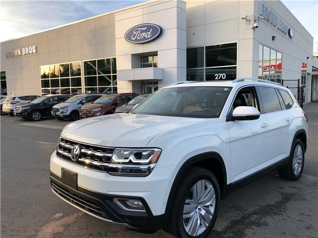 2018 Volkswagen Atlas 3.6 FSI Execline (Stk: 1861439A) in Vancouver - Image 1 of 28