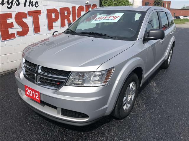 2012 Dodge Journey CVP/SE Plus (Stk: 19-381) in Oshawa - Image 1 of 13