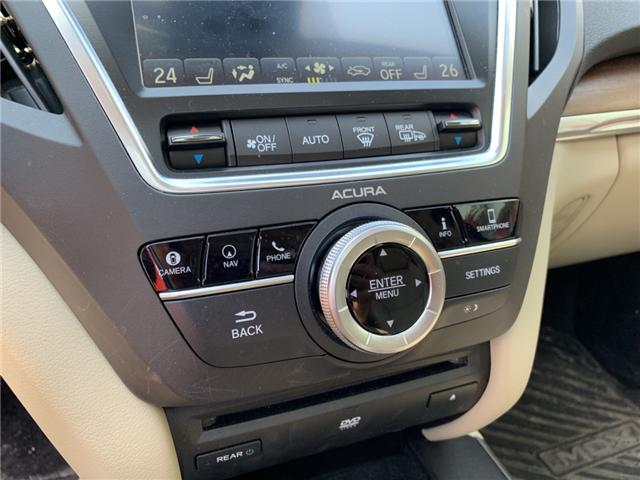 2018 Acura MDX Elite Package (Stk: JL802882) in Sarnia - Image 24 of 29