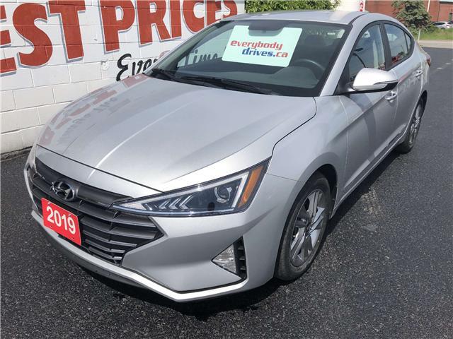 2019 Hyundai Elantra Preferred (Stk: 19-383) in Oshawa - Image 1 of 13