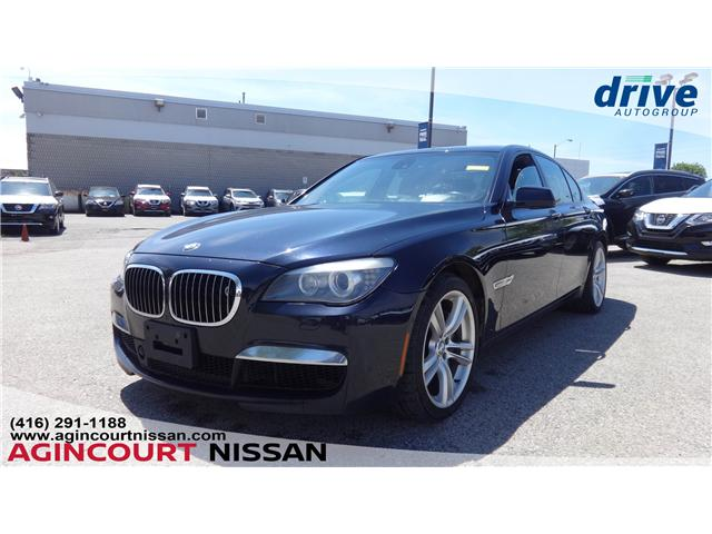 2010 BMW 750i xDrive (Stk: U12431) in Scarborough - Image 1 of 22