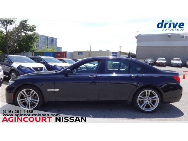 2010 BMW 750i xDrive (Stk: U12431) in Scarborough - Image 2 of 22
