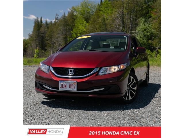 2015 Honda Civic EX (Stk: U5268A) in Woodstock - Image 1 of 10
