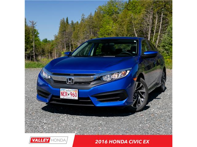 2016 Honda Civic EX (Stk: U5267A) in Woodstock - Image 1 of 9