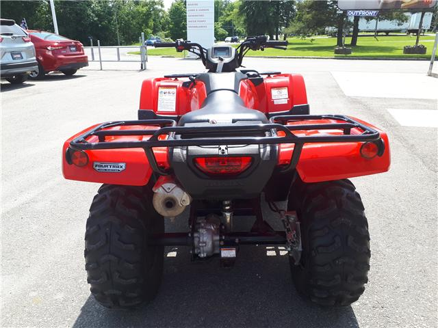 2016 Honda TRX420FM1G LIKE NEW! LOW KMS! (Stk: 4400714A) in Brockville - Image 6 of 10
