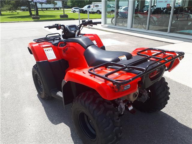 2016 Honda TRX420FM1G LIKE NEW! LOW KMS! (Stk: 4400714A) in Brockville - Image 7 of 10