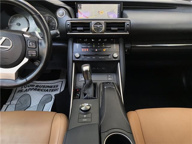 2017 Lexus IS 300 Base (Stk: 28232A) in Markham - Image 19 of 23