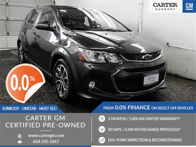 2018 Chevrolet Sonic LT Auto (Stk: P9-58600) in Burnaby - Image 1 of 24