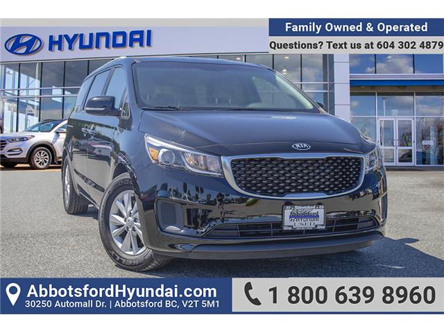 2016 Kia Sedona LX (Stk: AH8854) in Abbotsford - Image 1 of 28