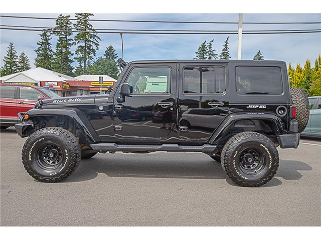 2018 Jeep Wrangler JK Unlimited Sahara (Stk: kj067315A) in Vancouver - Image 4 of 27
