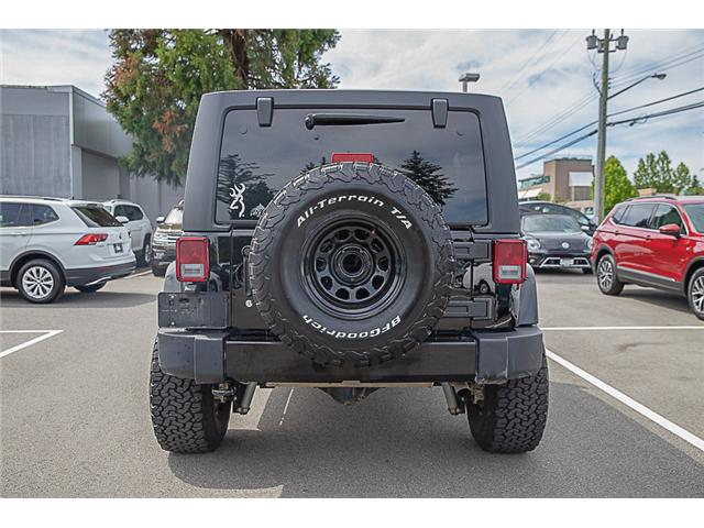 2018 Jeep Wrangler JK Unlimited Sahara (Stk: kj067315A) in Vancouver - Image 6 of 27