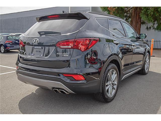 2017 Hyundai Santa Fe Sport 2.0T Ultimate (Stk: VW0885) in Vancouver - Image 7 of 30
