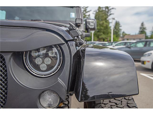 2018 Jeep Wrangler JK Unlimited Sahara (Stk: kj067315A) in Vancouver - Image 10 of 27