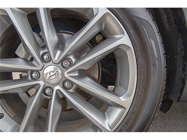 2017 Hyundai Santa Fe Sport 2.0T Ultimate (Stk: VW0885) in Vancouver - Image 9 of 30