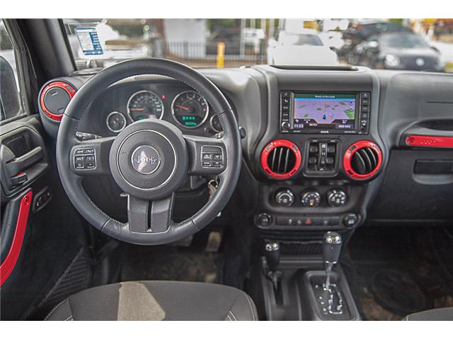 2018 Jeep Wrangler JK Unlimited Sahara (Stk: kj067315A) in Vancouver - Image 20 of 27