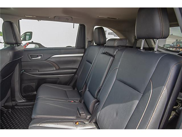 2017 Toyota Highlander XLE (Stk: EE909440) in Surrey - Image 11 of 26