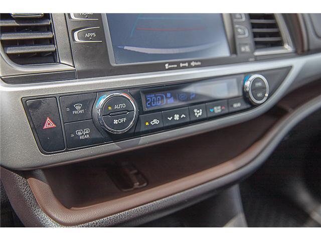 2017 Toyota Highlander XLE (Stk: EE909440) in Surrey - Image 23 of 26