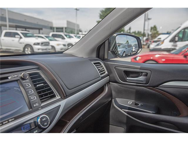 2017 Toyota Highlander XLE (Stk: EE909440) in Surrey - Image 25 of 26