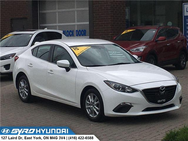 2015 Mazda Mazda3 GS (Stk: H4939) in Toronto - Image 1 of 30
