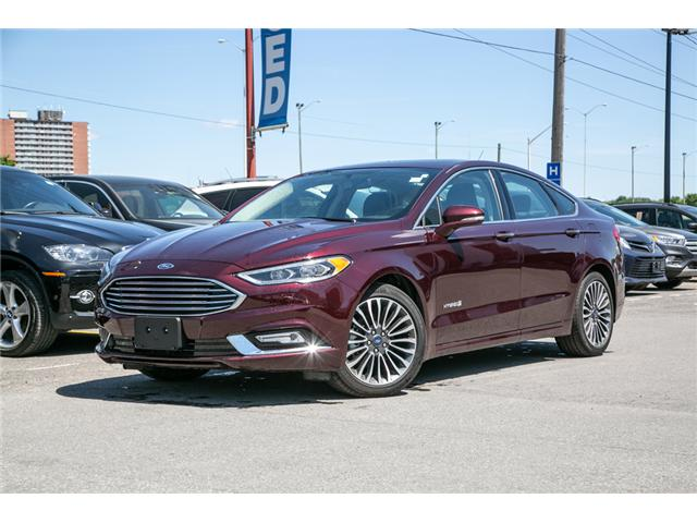 2018 Ford Fusion Hybrid  (Stk: 948960) in Ottawa - Image 1 of 29