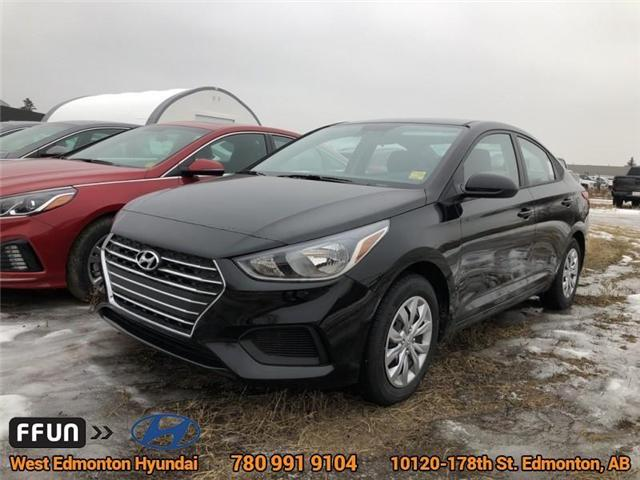 2019 Hyundai Accent  (Stk: AC95909) in Edmonton - Image 1 of 6