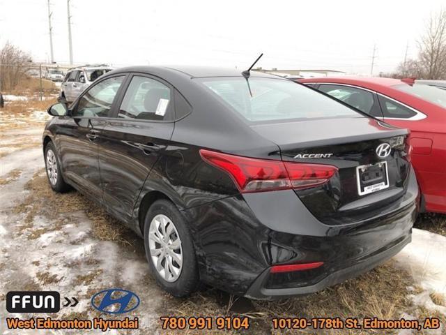 2019 Hyundai Accent  (Stk: AC95909) in Edmonton - Image 4 of 6