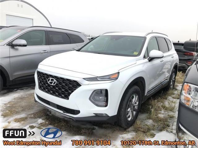 2019 Hyundai Santa Fe SE (Stk: SF97119) in Edmonton - Image 1 of 7