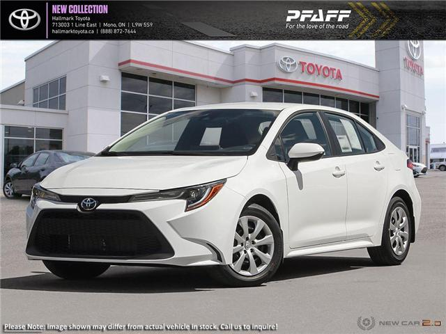 2020 Toyota Corolla 4-door Sedan LE CVT (Stk: H20008) in Orangeville - Image 1 of 24
