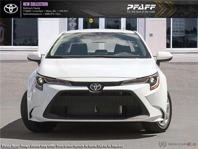 2020 Toyota Corolla 4-door Sedan LE CVT (Stk: H20008) in Orangeville - Image 2 of 24