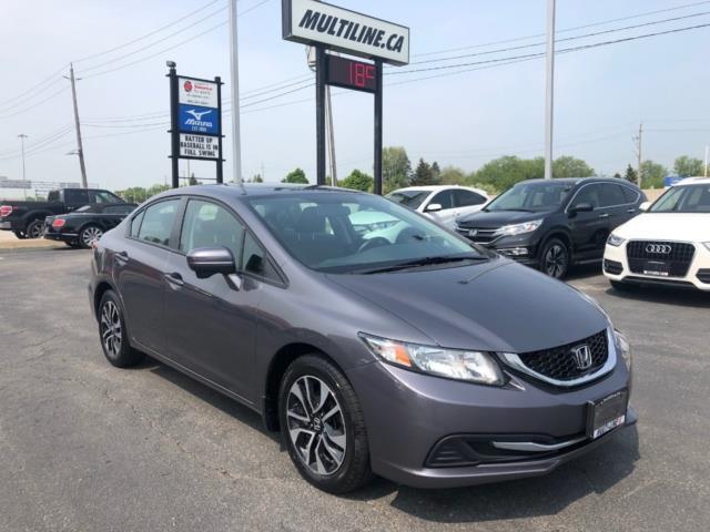 2015 Honda Civic EX (Stk: 341-98) in Oakville - Image 8 of 12