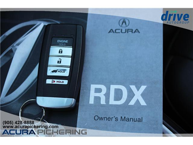 2017 Acura RDX Elite (Stk: AP4874) in Pickering - Image 36 of 36