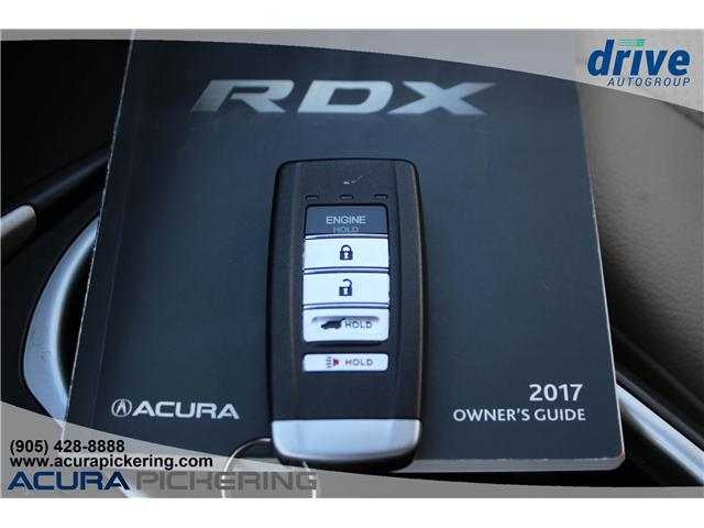 2017 Acura RDX Elite (Stk: AU042A) in Pickering - Image 33 of 33