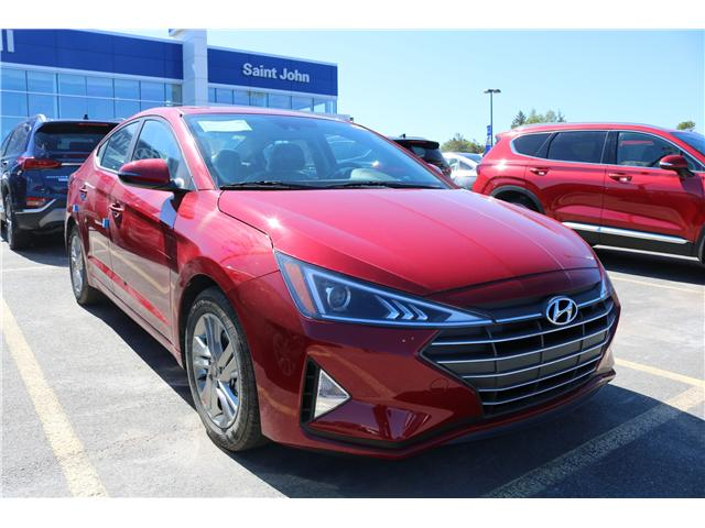 2020 Hyundai Elantra Preferred w/Sun & Safety Package (Stk: 02879) in Saint John - Image 1 of 2
