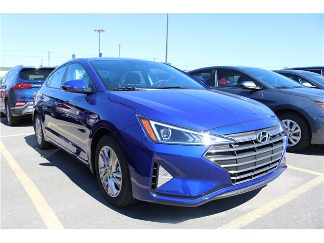 2020 Hyundai Elantra Preferred w/Sun & Safety Package (Stk: 02880) in Saint John - Image 1 of 3