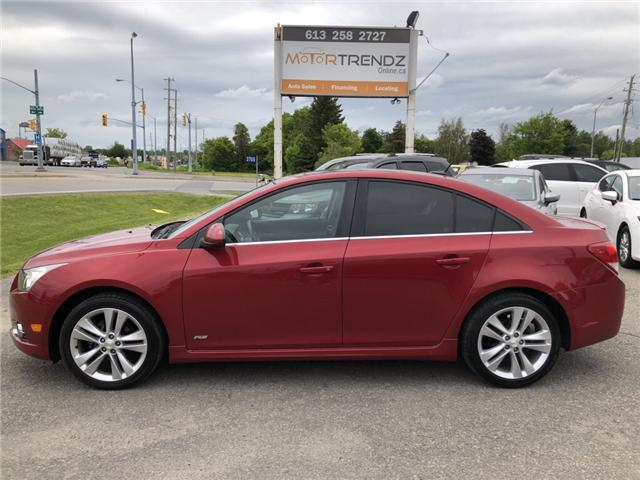 2012 Chevrolet Cruze LT Turbo (Stk: ) in Kemptville - Image 2 of 27