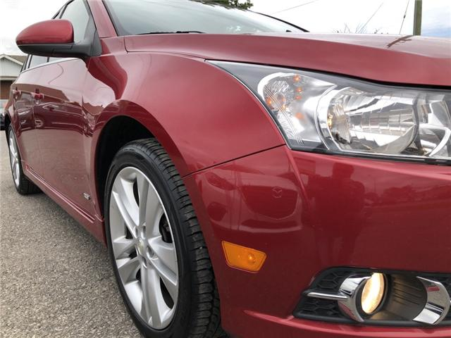 2012 Chevrolet Cruze LT Turbo (Stk: ) in Kemptville - Image 26 of 27