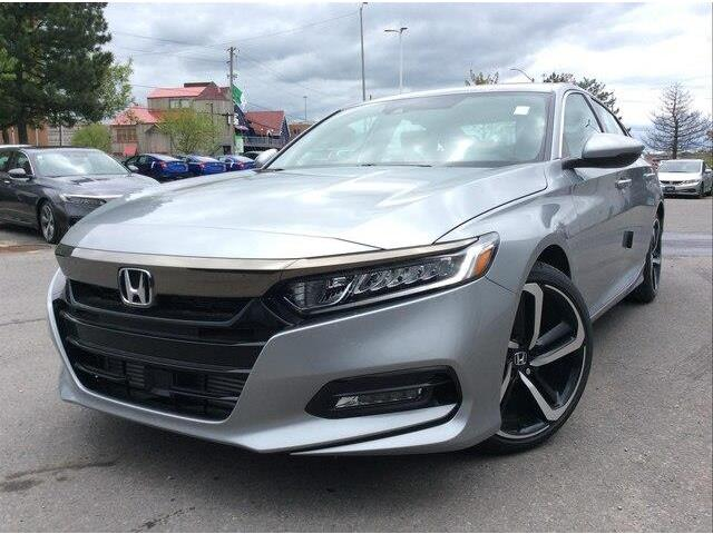 2019 Honda Accord Sport 1.5T (Stk: 19-0485) in Ottawa - Image 1 of 1