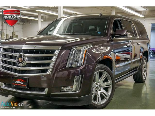 2015 Cadillac Escalade ESV Premium (Stk: ) in Oakville - Image 1 of 37