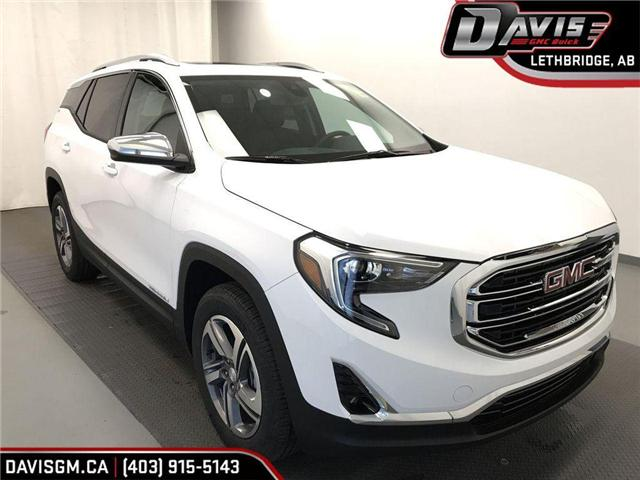 2019 GMC Terrain SLT Diesel (Stk: 201802) in Lethbridge - Image 1 of 21