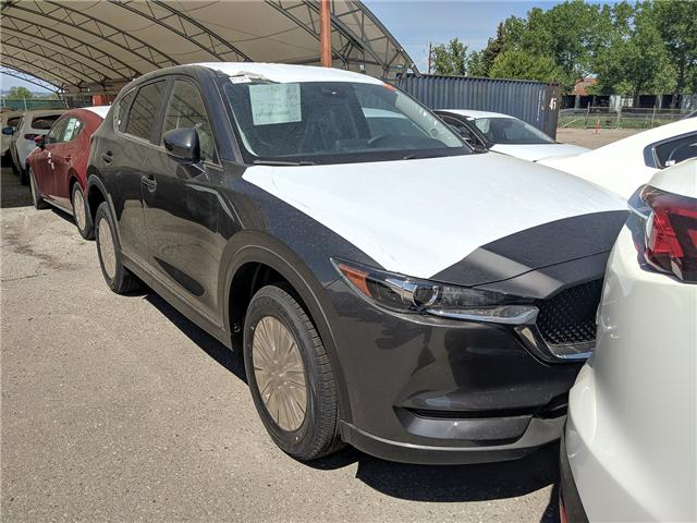 2019 Mazda CX-5 GS (Stk: H1758) in Calgary - Image 1 of 10