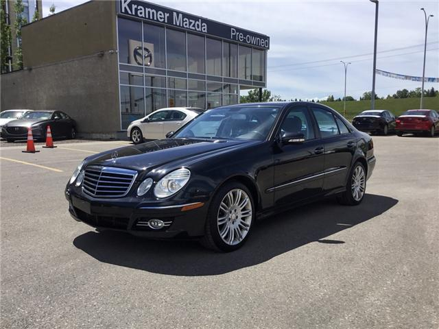 2009 Mercedes-Benz E-Class Base (Stk: K7854A) in Calgary - Image 1 of 15